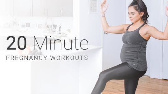 20 Min Pregnancy Workouts by Pure Barre On Demand