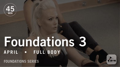 Foundations 3 with April by Pure Barre On Demand