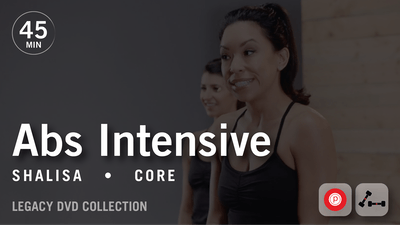 45 Min Intensive with Shalisa: Abs  |  Legacy DVD Collection by Pure Barre On Demand