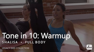 Tone in 10: Full Body Warmup by Pure Barre On Demand