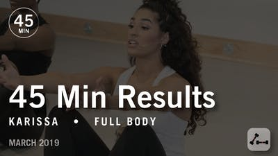 Instant Access to 45 Min Results with Karissa: Full Body  |  March 2019 by Pure Barre On Demand, powered by Intelivideo