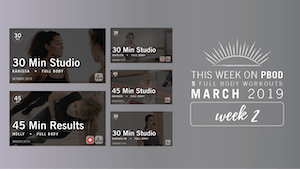 Instant Access to March 2019  |  Week 2 by Pure Barre On Demand, powered by Intelivideo