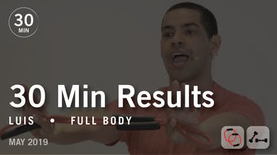 30 Min Results with Luis: Full Body  |  May 2019 by Pure Barre On Demand