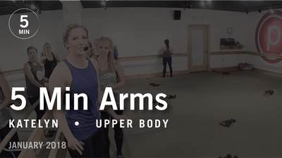 5 Min Burn with Katelyn: Arms  |  January 2018 by Pure Barre On Demand