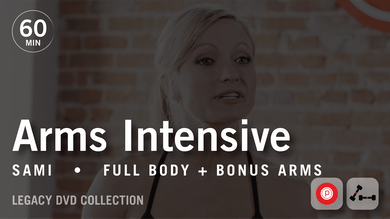 60 Min Intensive with Sami: Arms  |  Legacy DVD Collection by Pure Barre On Demand