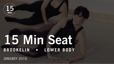 15 Min Flex with Brookelin: Seat  |  January 2019 by Pure Barre On Demand