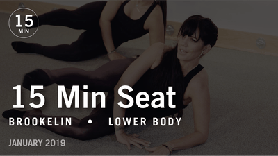 Instant Access to 15 Min Flex with Brookelin: Seat  |  January 2019 by Pure Barre On Demand, powered by Intelivideo