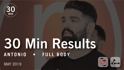 Instant Access to 30 Min Results with Antonio: Full Body  |  May 2019 by Pure Barre On Demand, powered by Intelivideo