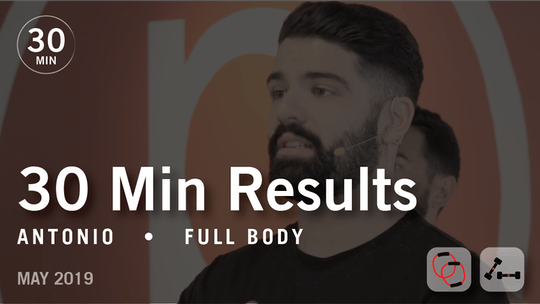 30 Min Results with Antonio: Full Body  |  May 2019 by Pure Barre On Demand