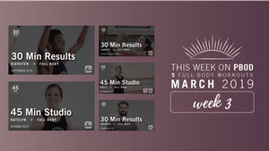 Instant Access to March 2019  |  Week 3 by Pure Barre On Demand, powered by Intelivideo