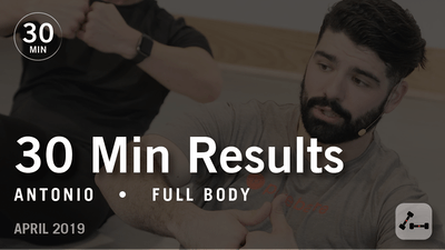 30 Min Results with Antonio: Full Body | April 2019 by Pure Barre On Demand
