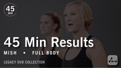 45 Min Results with Mish: Full Body  |  Legacy DVD Collection by Pure Barre On Demand