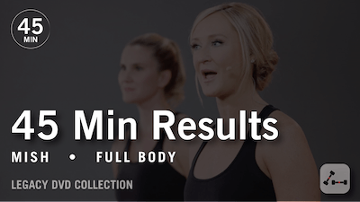Instant Access to 45 Min Results with Mish: Full Body  |  Legacy DVD Collection by Pure Barre On Demand, powered by Intelivideo