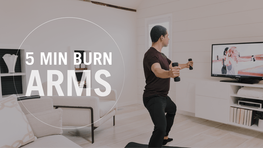 5 Min Burn: Arms by Pure Barre On Demand