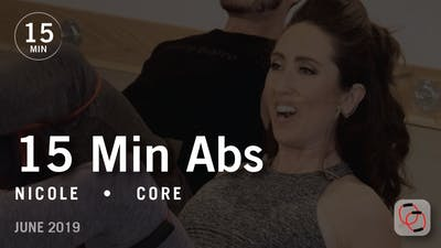 15 Min Abs with Nicole  |  June 2019 by Pure Barre On Demand