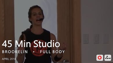 45 Min Studio with Brookelin  |  April by Pure Barre On Demand