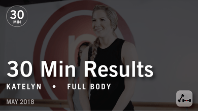 30 Min Results with Katelyn: Full Body  |  May 2018 by Pure Barre On Demand