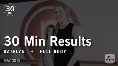 Instant Access to 30 Min Results with Katelyn: Full Body  |  May 2018 by Pure Barre On Demand, powered by Intelivideo