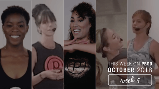 October  |  Week 5 by Pure Barre On Demand