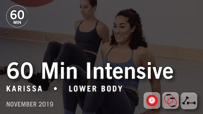 60 Min Intensive with Karissa | November 2019 by Pure Barre On Demand
