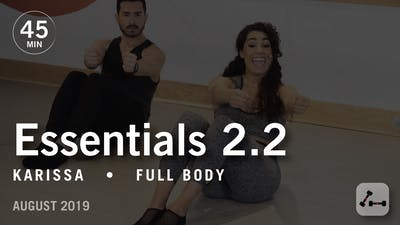 Essentials 2.2 with Karissa: Tuck & Heavy Tailbone | August 2019 by Pure Barre On Demand
