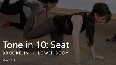 Tone in 10: Seat |  May by Pure Barre On Demand