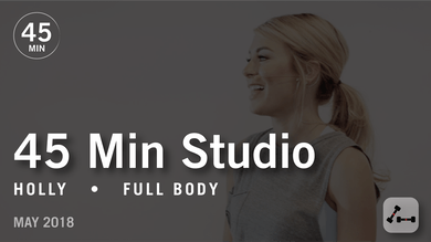 45 Min Studio with Holly: Full Body  |  May 2018 by Pure Barre On Demand