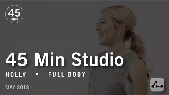 Instant Access to 45 Min Studio with Holly: Full Body  |  May 2018 by Pure Barre On Demand, powered by Intelivideo