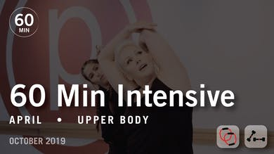 60 Min Intensive with April | October 2019 by Pure Barre On Demand