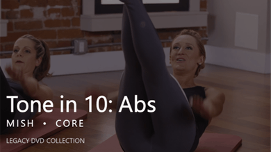 Tone in 10: Abs by Pure Barre On Demand