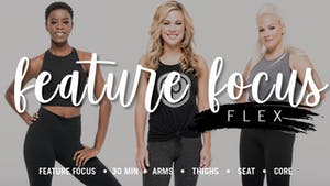 Instant Access to Feature Focus Flex by Pure Barre On Demand, powered by Intelivideo