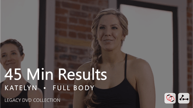 45 Min Results with Katelyn by Pure Barre On Demand