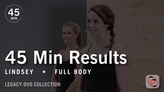 Instant Access to 45 Min Results with Lindsey: Full Body  |  Legacy DVD Collection by Pure Barre On Demand, powered by Intelivideo