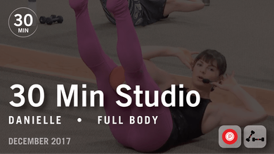 30 Min Studio with Danielle: Full Body  |  December 2017 by Pure Barre On Demand