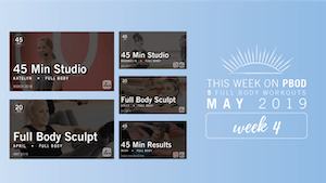 Instant Access to May 2019  |  Week 4 by Pure Barre On Demand, powered by Intelivideo
