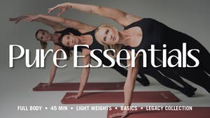 Instant Access to Essentials Series by Pure Barre On Demand, powered by Intelivideo