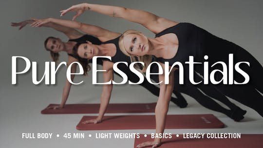 Essentials Series by Pure Barre On Demand, powered by Intelivideo