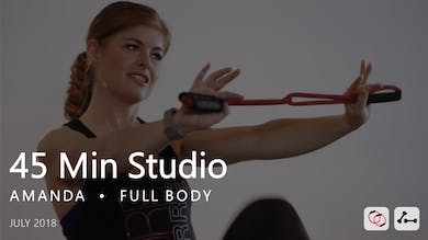 45 Min Studio with Amanda  |  July by Pure Barre On Demand
