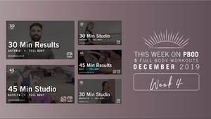 December 2019 | Week 4 by Pure Barre On Demand