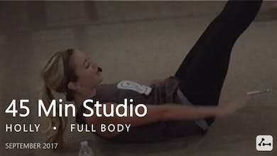 45 Min Studio with Holly  |  September by Pure Barre On Demand