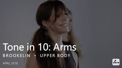 Tone in 10: Arms  |  April by Pure Barre On Demand