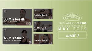 Instant Access to May 2019  |  Week 1 by Pure Barre On Demand, powered by Intelivideo
