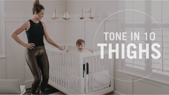Tone in 10: Thighs by Pure Barre On Demand, powered by Intelivideo
