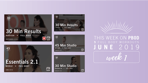 Instant Access to June 2019  |  Week 1 by Pure Barre On Demand, powered by Intelivideo