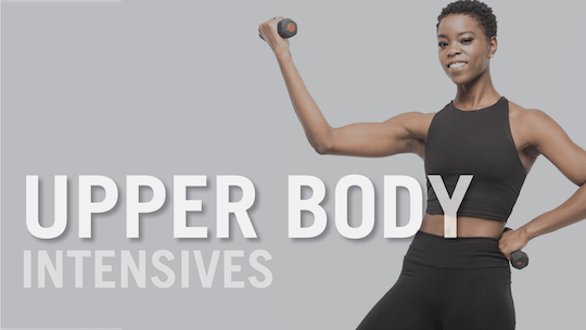 Upper Body Intensives by Pure Barre On Demand