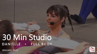 30 Min Studio with Danielle  |  January by Pure Barre On Demand