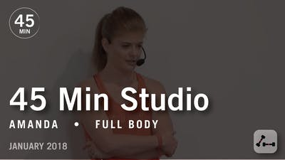 45 Min Studio with Amanda: Full Body  |  January 2018 by Pure Barre On Demand