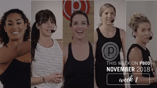 November  |  Week 1 by Pure Barre On Demand