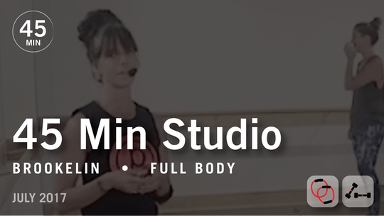 Instant Access to 45 Min Studio with Brookelin: Full Body  |  July 2017 by Pure Barre On Demand, powered by Intelivideo