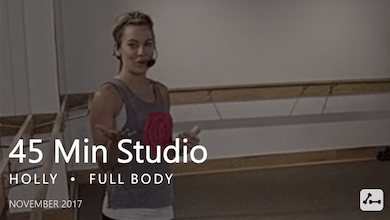 45 Min Studio with Holly  |  November by Pure Barre On Demand